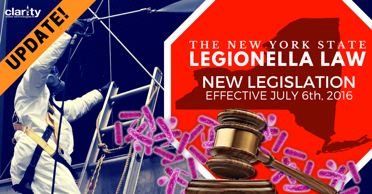 NYCRR Title 10 Part 4 Replaces NY State Emergency Legionella Laws