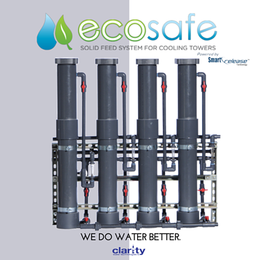 EcoSafe Smart Release Solid Feed System for Cooling Towers