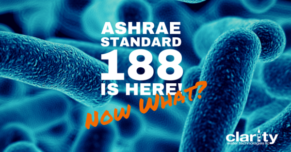 What is ASHRAE Standard 188 for Legionellosis Risk Management
